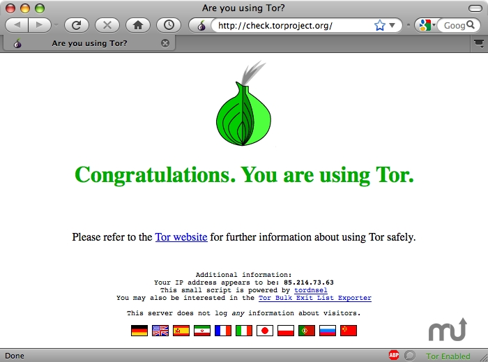 uninstall Tor Browser