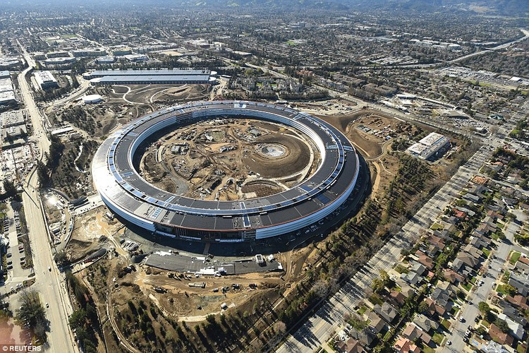 Apple Park Will Open to Employees in April