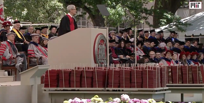 Tim Cook in Commencement Address at MIT
