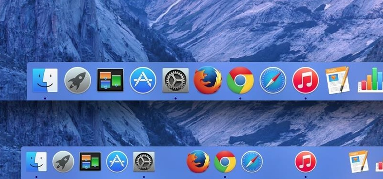 show and hide Dock on macOS